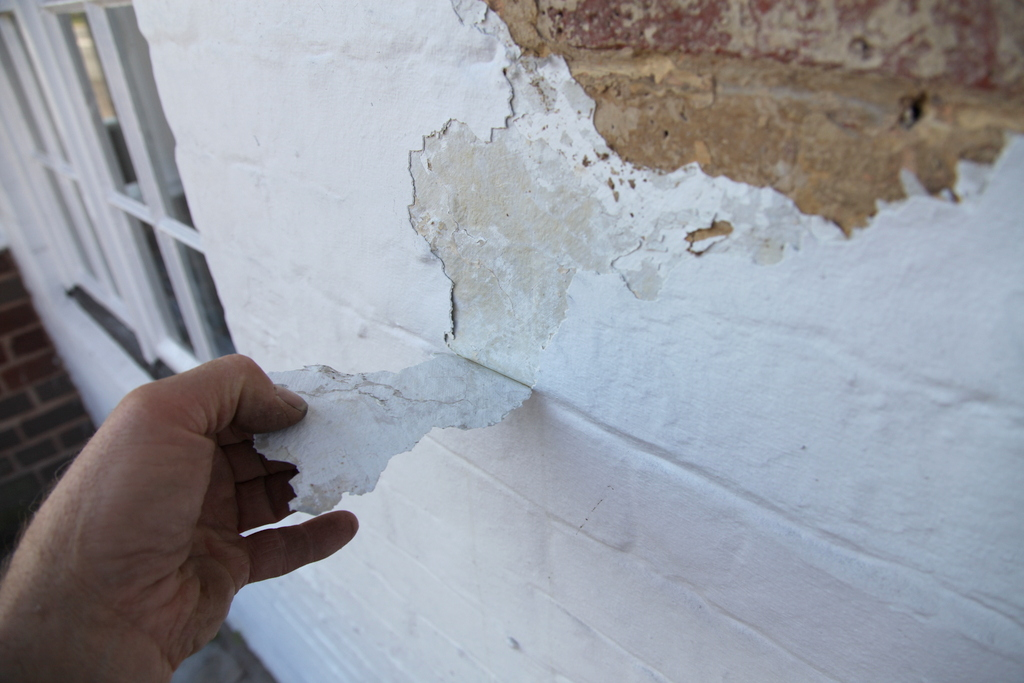Heritage house does damp proof paint work - Damp proofing paint for exterior walls ...