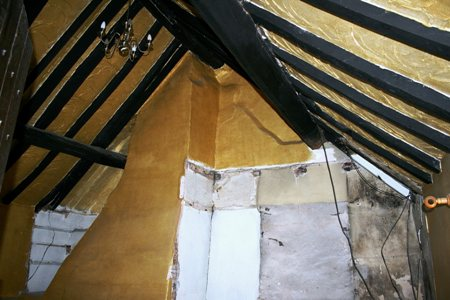 Restoration of a stone cottage in Birmingham, using traditional