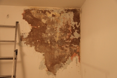 Condensation in bedroom walls