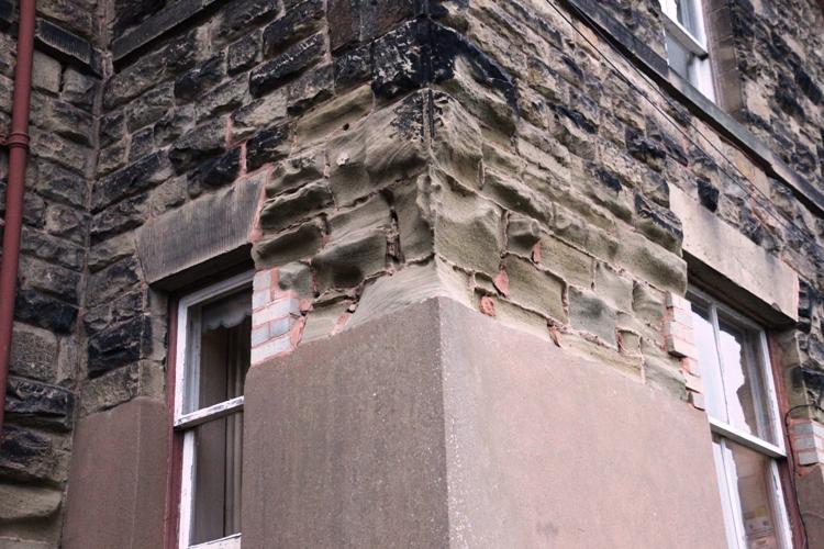 Damp Damage To Stonework